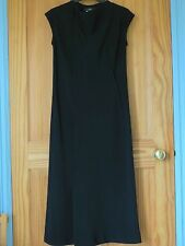 NEW Whistles Black Long Elegant Cocktail Evening Party Dress Size UK 8 US 4
