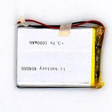 3.7V 1000 mAh Rechargeable Battery 404055 Li-Polymer Li Po for GPS Bluetooth MP3