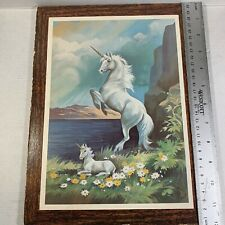 Unicorn Wall Art Fantasy Print Hyat Used
