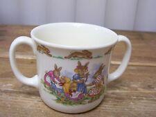 Royal Doulton Bunnykins Pennykins 2 Handled Hug a Mug Cup Bunny Rabbit Mother