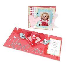 Sizzix Bigz Die - Extra Long - Hearts-a-Plenty 3-D Pop-Up Card - Valentine