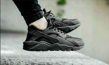 "NIKE AIR HUARACHE RUN ""Black Out"" SZ: WMNS 5.5 (634835 009)"