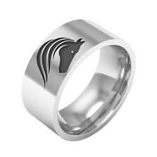 Horse Ring, Sterling Silver Band Ring,Horse Band Ring