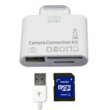 5-in-1 Camera Connection Kit and SD Card Reader for iPad / iPad 2 / iPad 3