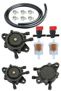 HIPA 49040-7001 Fuel Pump + 49019-7001 Fuel Filter Fuel Line Shut-Off Valve For