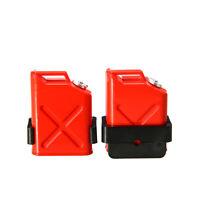 2Pcs RC Car Gas Cars Fuel Tank For 1:10 RC Rock Crawler Car Decor Accessories