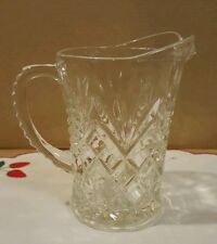Vintage Glass Cream Pitcher