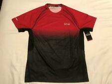Polo Sport Rl Men'S Red/Black Stretch Thermovent Athletic Shirt Size:Small [New]