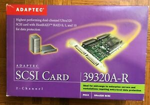 ADAPTEC SCSI CARD 39320A-R, Mint, FREE SHIPPING