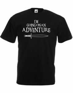 I'm Going On An Adventure, Mens Printed T-Shirt