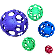 JW CAGE BALL HOLLE ROLLER ROLEE ALL SIZE AND COLOURS DOG TOY