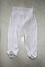 Pantalon de pyjama blanc et rose neuf taille 9/12 mois marque ZY Baby