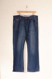 Vintage Lee Cooper Jeans Coupe Droite Bleu Moyen (W38 L32)