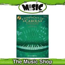 New A Symphony of Carols Piano Music Book & CD - CD Orchestra Accompaniment