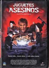 JUGUETES ASESINOS de David DeCoteau. España tarifa plana envíos DVD, 5 €