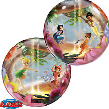 Disney Tinkerbell Birthday Party Bubble Balloon, 56cm - FREE DELIVERY