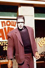Fred Gwynne As Herman Munster Walking In Street Outside Store 11x17 Mini Poster