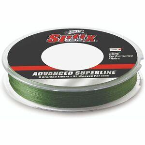 Sufix Advanced Superline 832 Braid 50 lb LowVis Green 300 yd 660-150G
