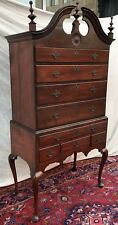 Important 18Th Century Queen Anne Maple Highboy-Hartford County Connecticut