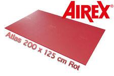 Airex Premium XXL Gymnastikmatte Atlas Rot 200 x 125 cm NEU + OVP