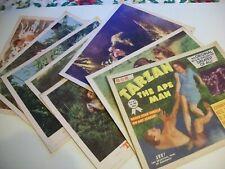 Tarzan the Ape Man  lobby card set 1954