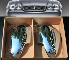 FAST EMS X2 ROYAL CHROME Door Mirror Covers for Jaguar X358 XJ XJ8 X-Type 08 09