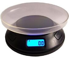 Professional Digital Round Pocket Scale+Bowl Coins Gold Jewelry Silver Herbs