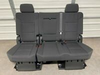2009-2018 Dodge Ram 1500 2500 3500 rear center seat belts seatbelt black