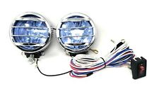 2 4x4 Off Road Universal Driving Lamps Fog Lights Set Kit Wiring Harness 35w Fits Ford