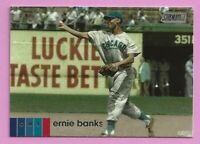 2020 Topps Stadium Club Ernie Banks #110 Chicago Cubs