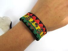 Armband Armbänder Herren Lederarmband Damen RASTA Surferarmband Unisex NEU