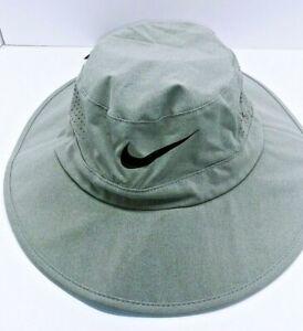 Nike Adult Unisex Sun Protect Bucket Golf Hat/Cap-Grey 832687-063