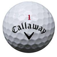 75 Callaway Hex Chrome+ Plus Golfbälle im Netzbeutel AA/AAAA Lakeballs Bälle