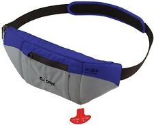 Onyx M24 Manual Inflatable SUP Belt Pack Life Jacket M-24 Blue/Grey PFD NEW