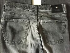VERSACE JEANS COUTURE Gray Grey Wash Straight Leg Jeans Size 30