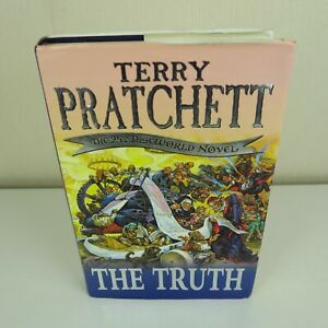 The Truth By Terry Pratchett Hardback 25th Discworld Novel