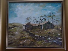 Signed Original Oil Painting Bristo Rigg Farm BECKWITHSHAW Harrogate N Yorkshire