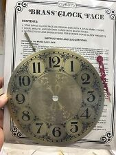 """7"""" Brass Clock Face by Clarity"""