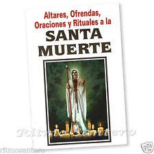 SANTA MUERTE Libro Ofrendas Oraciones Altares Rituales Santisima Contactar Ritos