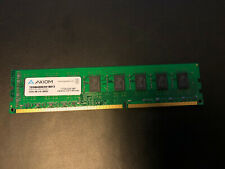 Axiom 8GB PC3-12800U  1600MHz Non-ECC Memory