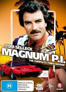 Magnum P.I. : Season 3 (DVD, 2015, 6-Disc Set) brand new sealed - free post!