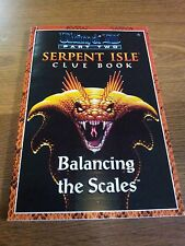 ULTIMA VII 7- PART TWO - SERPENT ISLE HINT CLUE BOOK, NEW MINT RARE