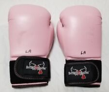 "CENTURY KICKBOXING MMA UFC BOXING 12 OZ GLOVES PINK ""LOVEKICKBOXING.COM"""