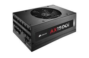 1500W Corsair Modular Power Supply AX1500i PSU 80 Plus Titanium