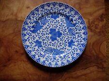 Vintage Blue And White Phoenix/Dragon Salad Plates