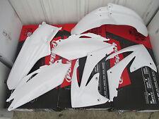 RACE TECH WHITE  PLASTIC KIT HONDA  10 11 12 13 CRF250R & 2009 10 11 12 CRF450R