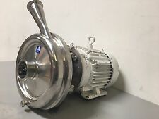 Alfa Laval LKHU35MDG18T-L-PLK4H Sanitary Centrifugal Pump w/ Reliance 3HP Motor