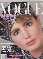 NOV 1984 VOGUE fashion magazine