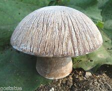 "2 piece mushroom mold poly plastic concrete plaster mould 4"" H x 5.5""W at cap"