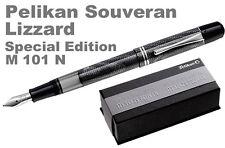 PELIKAN  LIZARD Fountain Pen SOUVERAN M 101N B nib, BOX  Model 1937 NEW